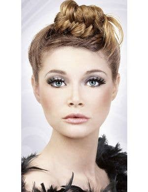 Layered False Eyelashes in Black