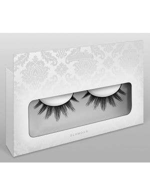 Layered Women's False Eyelashes in Black