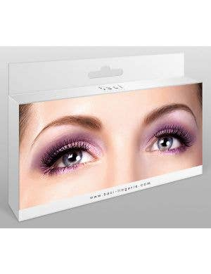 Cross Hatch False Eyelashes in Black
