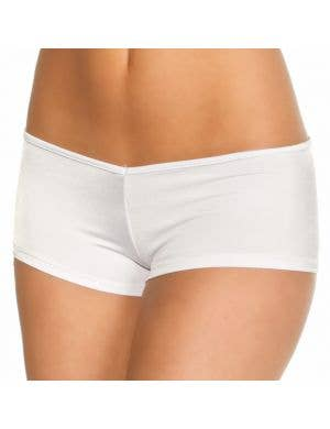 Lycra Women's Booty Shorts in White