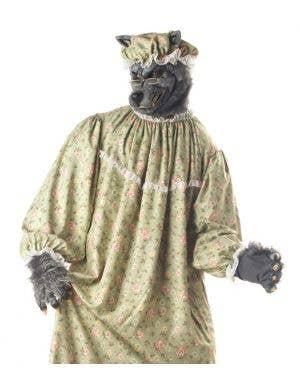 Wolf Granny Men's Halloween Costume