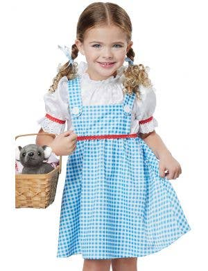 Wizard of Oz Dorothy Toddler Girls Costume