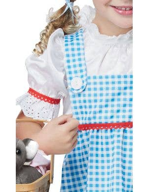 Wizard of Oz Dorothy Baby Blue Girls Costume