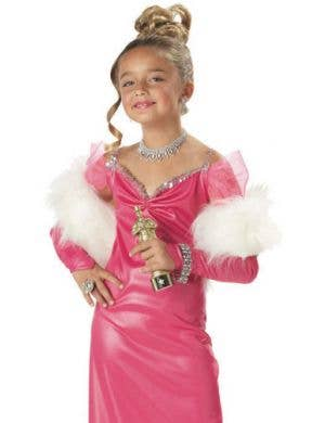 Hollywood Starlet Girls Fancy Dress Costume