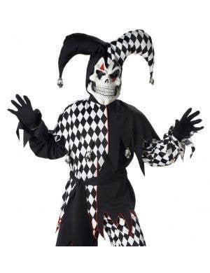 Evil Jester Boys Halloween Costume