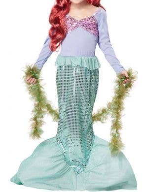 Little Mermaid Girls Fancy Dress Costume