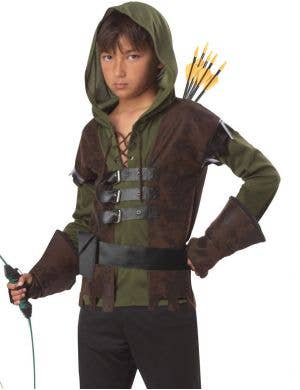 Robin Hood Boys Fancy Dress Costume