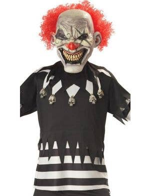 Creepy Clown Boys Halloween Fancy Dress Costume