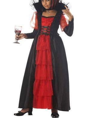Regal Vampira Girls Halloween Costume