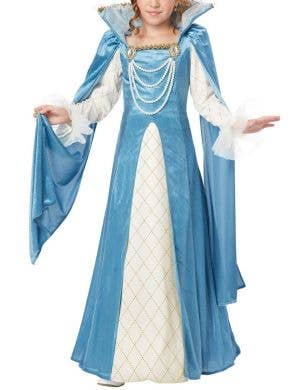Renaissance Queen Girls Costume