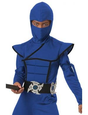 Stealth Ninja Kid's Jumpsuit Costume