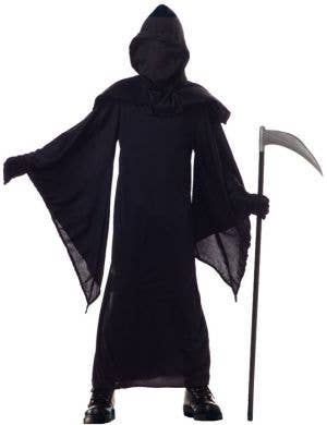 Death Horror Robe Boys Halloween Costume