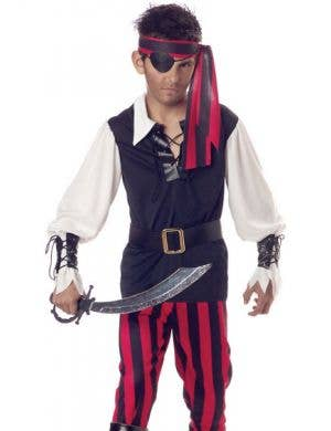 Cutthroat Pirate Boys Costume