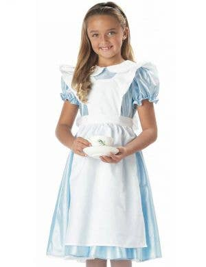 Classic Alice In Wonderland Girls Costume