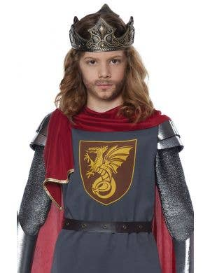 Medieval King Boys Fancy Dress Costume