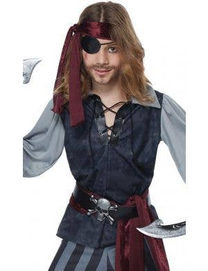 Sea Scoundrel Pirate Boy's Costume
