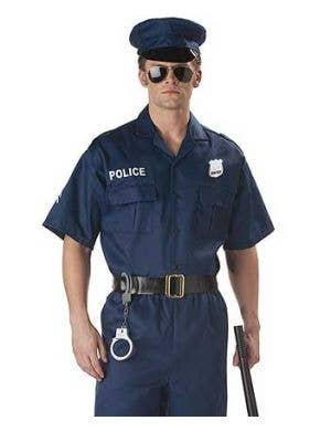 Police Officer Men's Cop Costume