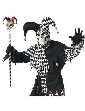 Evil Jester Men's Halloween Costume
