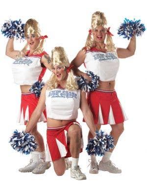 Varsity Cheerleader Funny Men's Costume