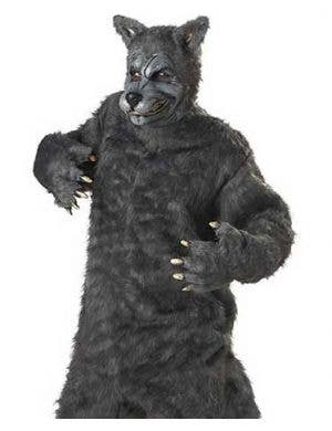 Big Bad Wolf Plus Size Men's Halloween Costume