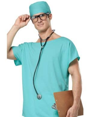 Doctor Scrubs Surgeon Adult's Costume