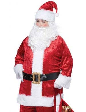 Classic Velvet Men's Christmas Santa Suit