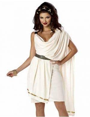 Classic Roman Toga Women's Costume