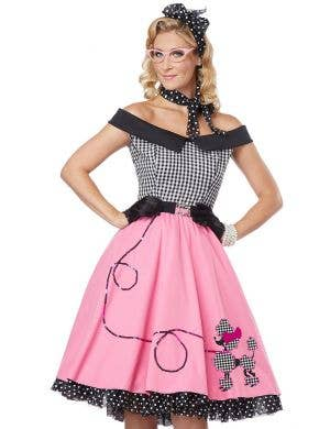Nifty Fifties Women's Poodle Skirt Costume