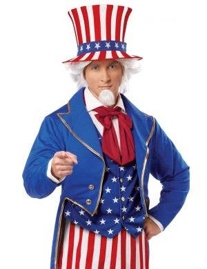 Iconic American Uncle Sam Adult's Costume