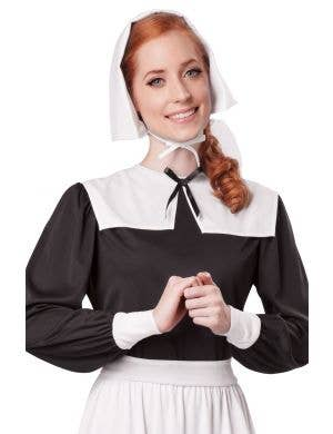 Religious Pilgrim Women's Fancy Dress Costume