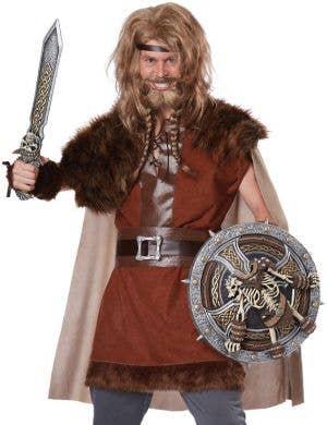 Mighty Viking Men's Fancy Dress Costume