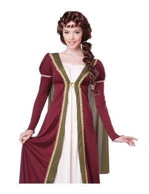 Medieval Maiden Women's Fancy Dress Costume