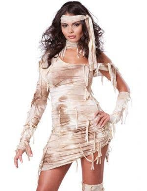 Mystical Mummy Sexy Women's Halloween Costume