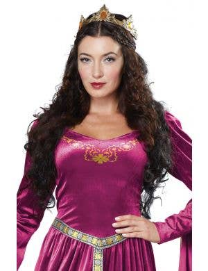 Lady Guinevere Berry Women's Renaissance Fancy Dress Costume