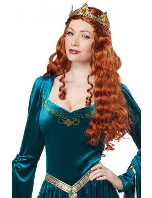Noble Lady Guinevere Women's Medieval Fancy Dress Costume