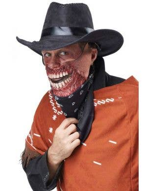 Gruesome Outlaw Cowboy Men's Halloween Costume