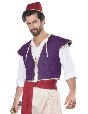 e3a7e51906d7a Arabian Folk Hero Men's Aladdin Costume Arabian Folk Hero Men's Aladdin  Costume