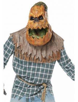 Hunted Harvest Pumpkin Deluxe Men's Halloween Costume