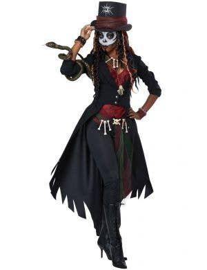 Voodoo Magic Master Women's Halloween Costume