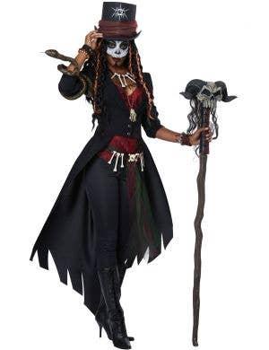 Voodoo Magic Master Women's Halloween Costume