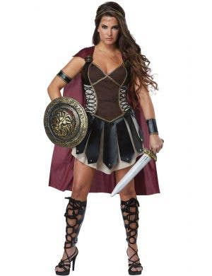 Glorious Princess Gladiator Women's Fancy Dress Costume