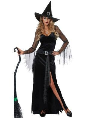 Rich Witch Women's Sexy Halloween Costume