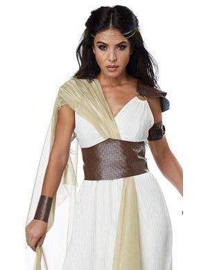 Spartan Warrior Queen Women's Fancy Dress Costume