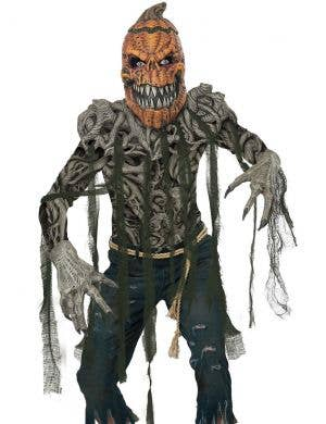 Pumpkin Creature Deluxe Men's Halloween Costume