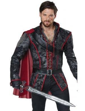 Storybook Huntsman Dark Prince Fairytale Men's Costume