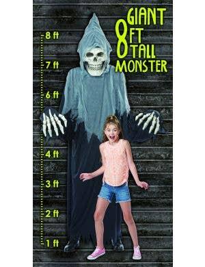 Towering Terror Adult's Grim Reaper Halloween Dual Use Costume