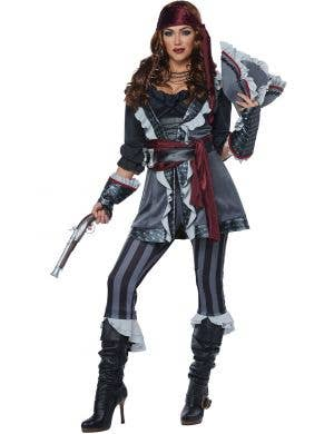 Captain Blackheart Buccaneer Women's Pirate Costume