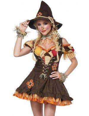 Sassy Scarecrow Women's Deluxe Halloween Costume