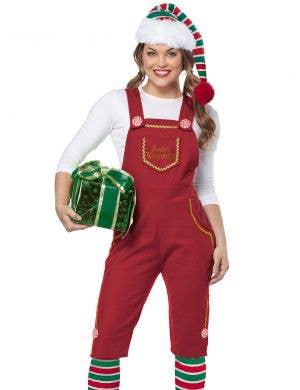 Santa's Workshop Women's Red Christmas Elf Costume