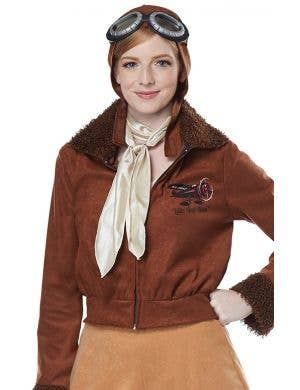Amelia Earhart Women's Aviator Costume